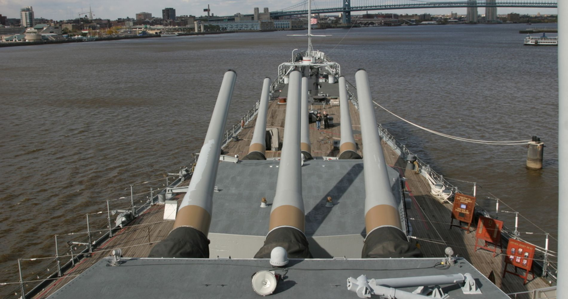 Battleship New Jersey Museum & Memorial and other attractions for Two