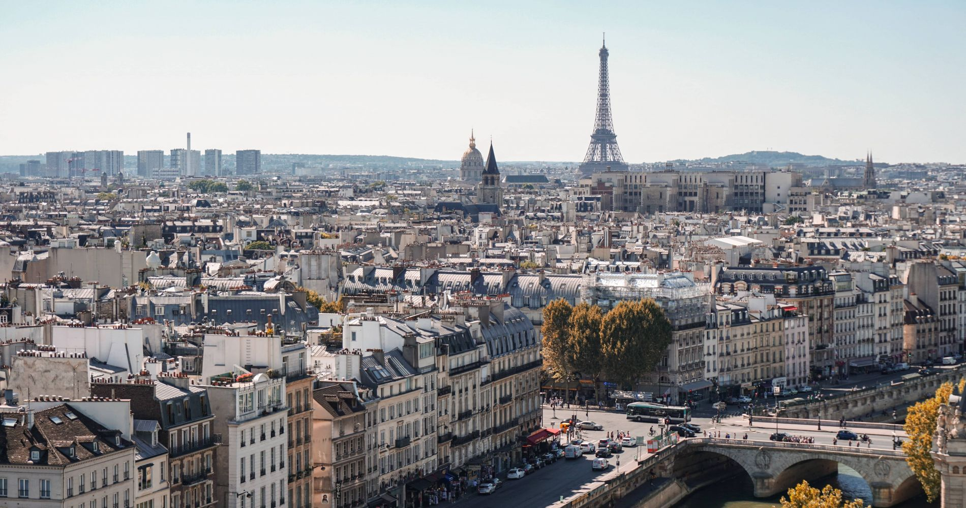 1-Day Big Bus Paris Hop-On-Hop-Off Tour and other attractions in Paris for Two