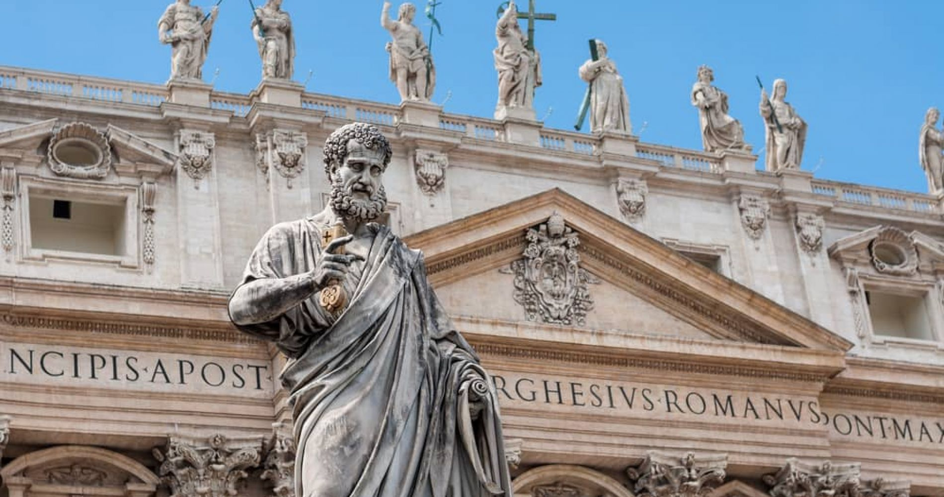 Visit main attractions of Rome including St. Peter's Basilica