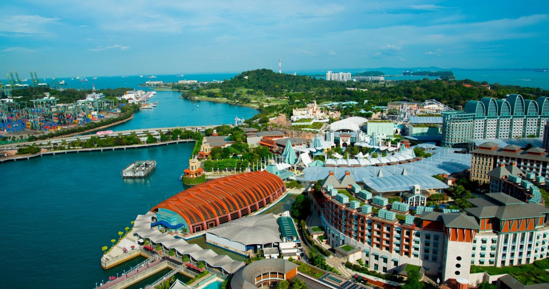 AJ Hackett Sentosa Giant Swing and Skybridge and other Singapore attractions