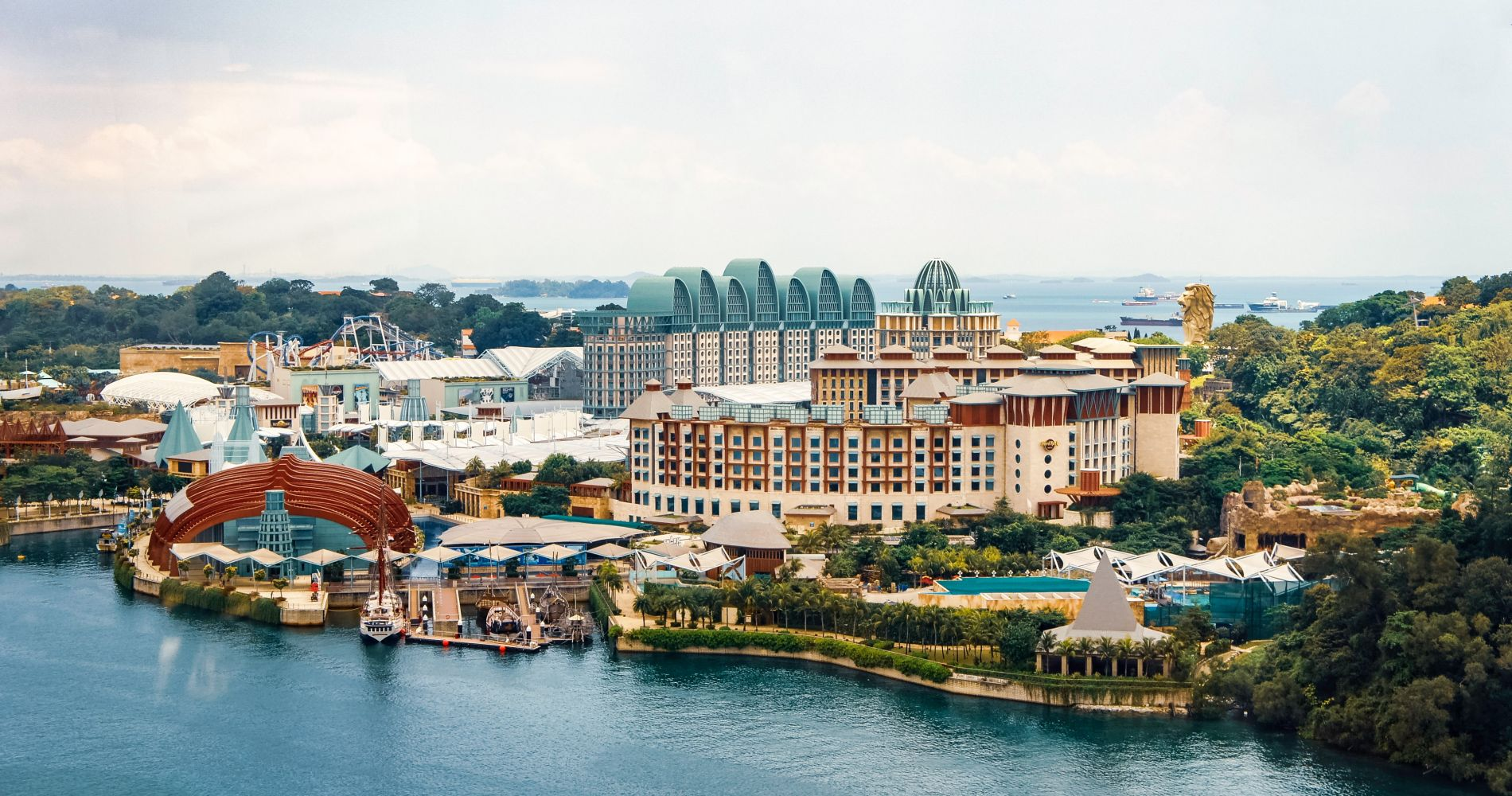 AJ Hackett Sentosa Giant Swing and Skybridge and other Singapore attractions for Two