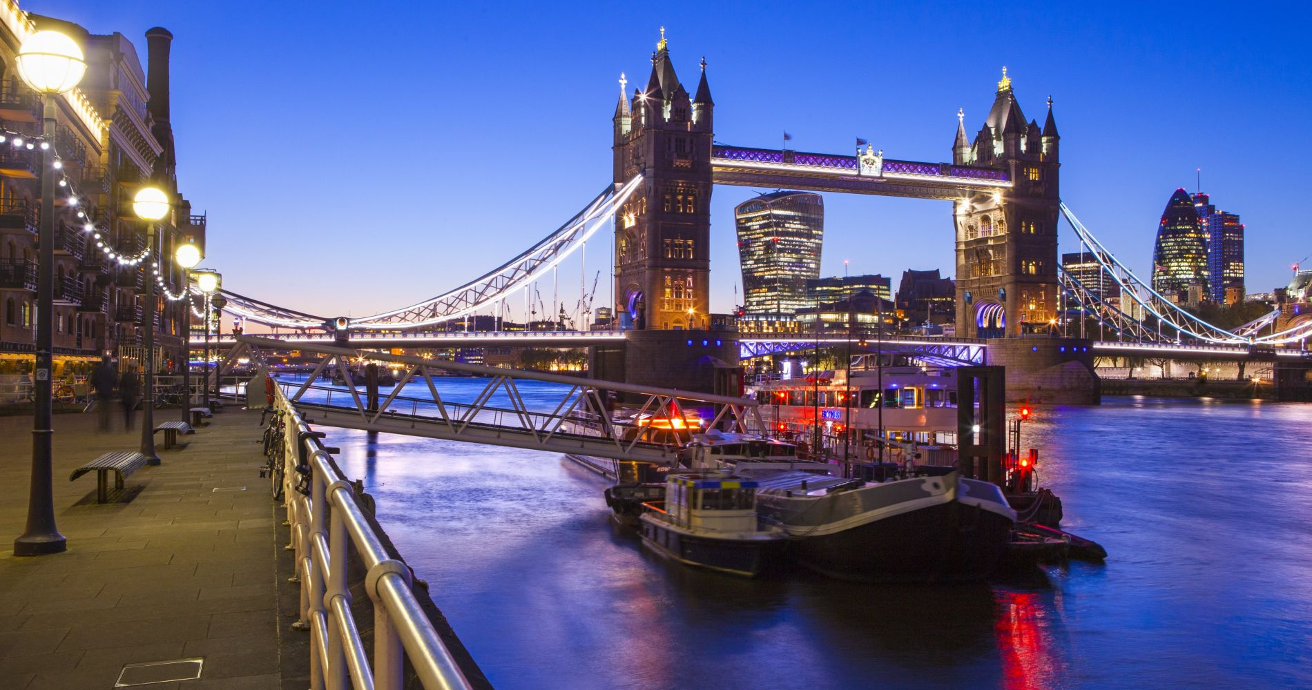 Visit London with City Cruises Thames River Pass for Two