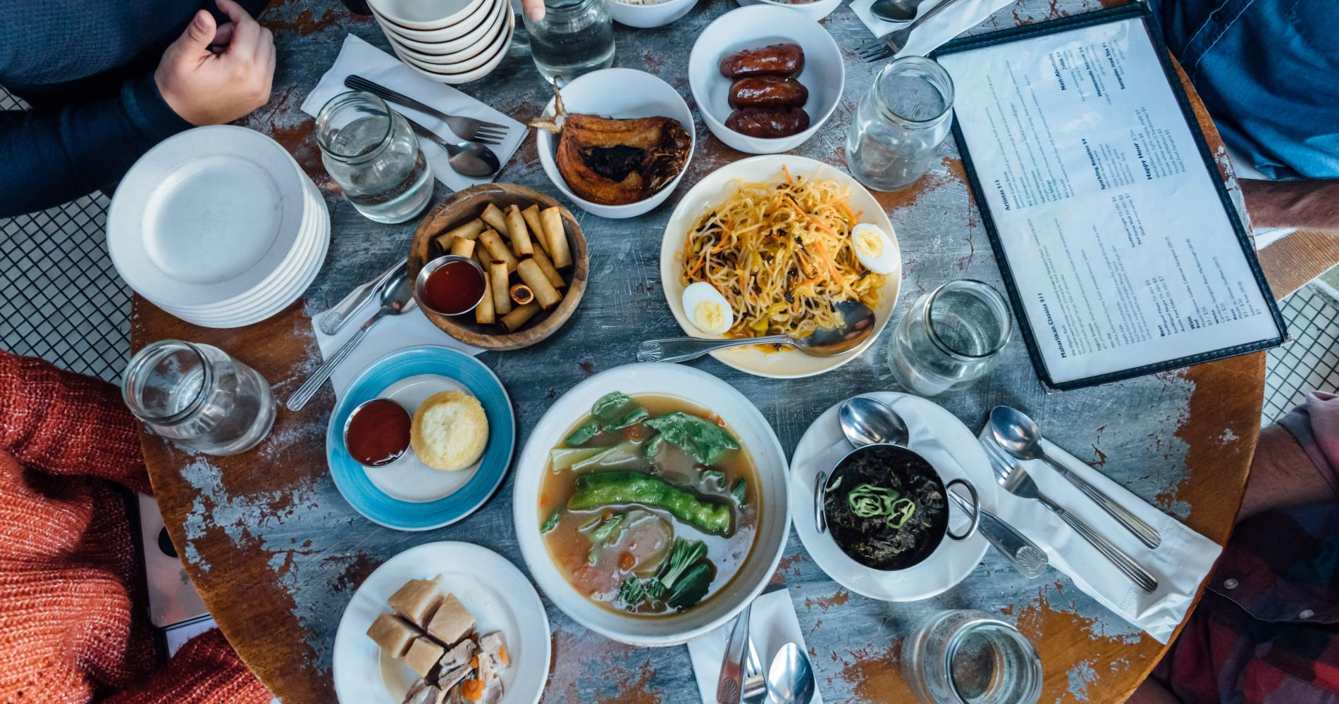 Filipino food tour and lunch in the East Village