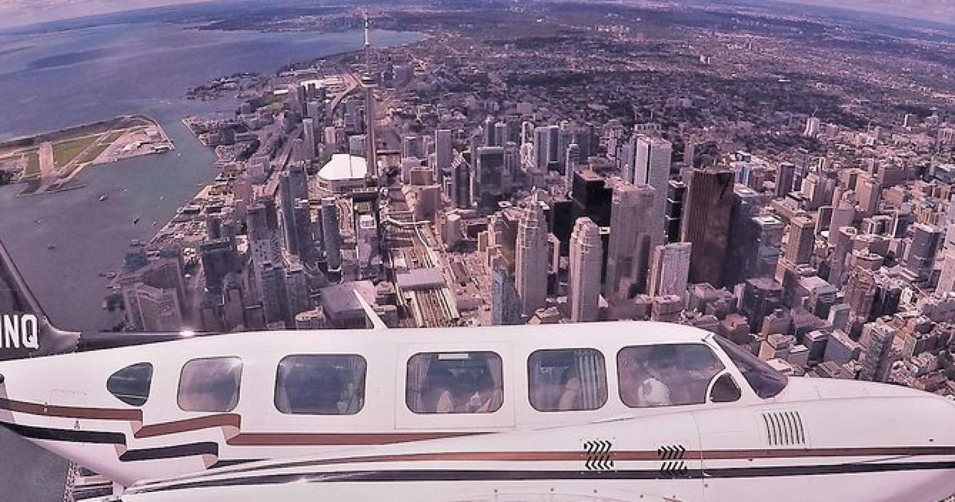 Aerial Tour of Toronto with IflyTOTO for Two