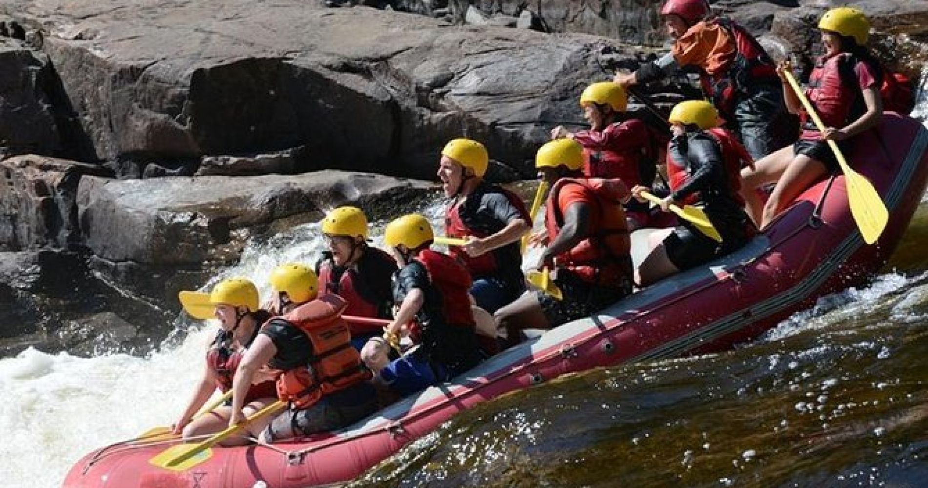 Half-Day White Water Rafting on the Rouge River