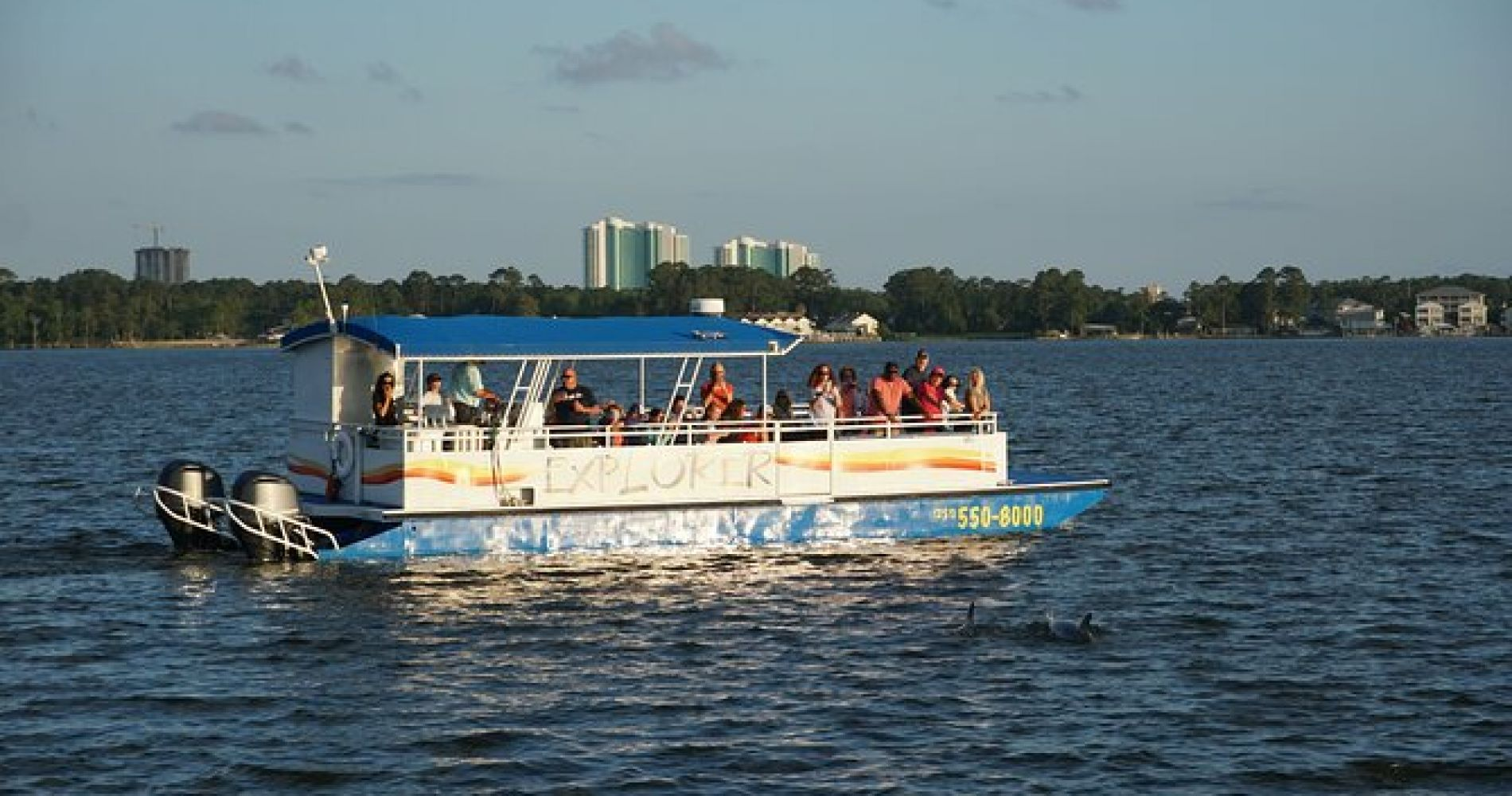 Orange Beach Dolphin Eco Boat Tour