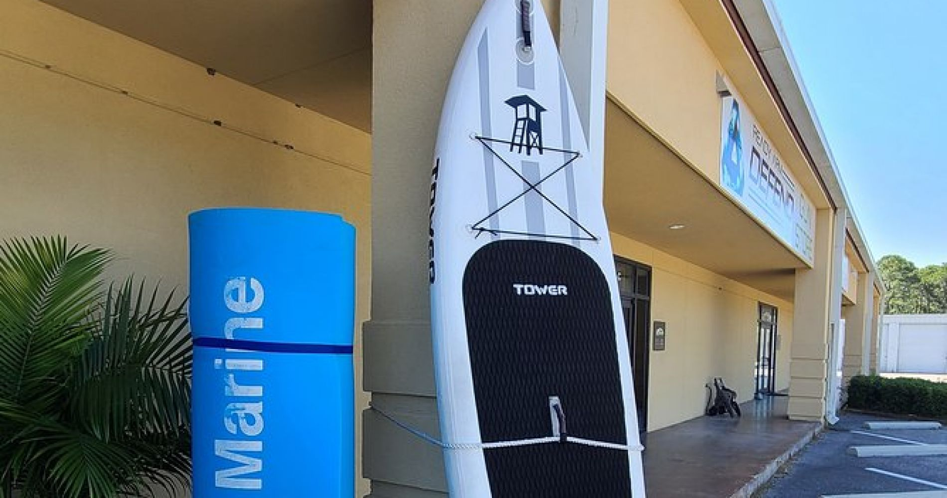 Orange Beach Tower Paddle Board Rental with Delivery and Pickup
