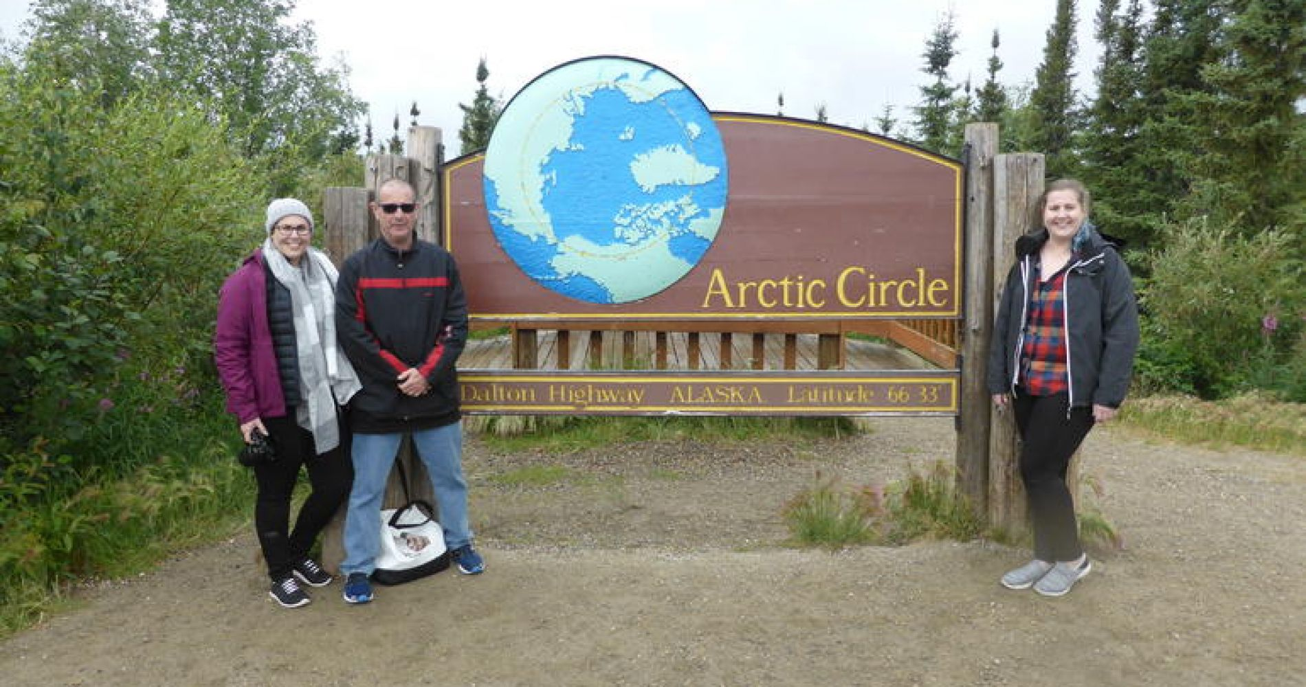 Arctic Circle Small-Group Day Trip from Fairbanks with Lunch