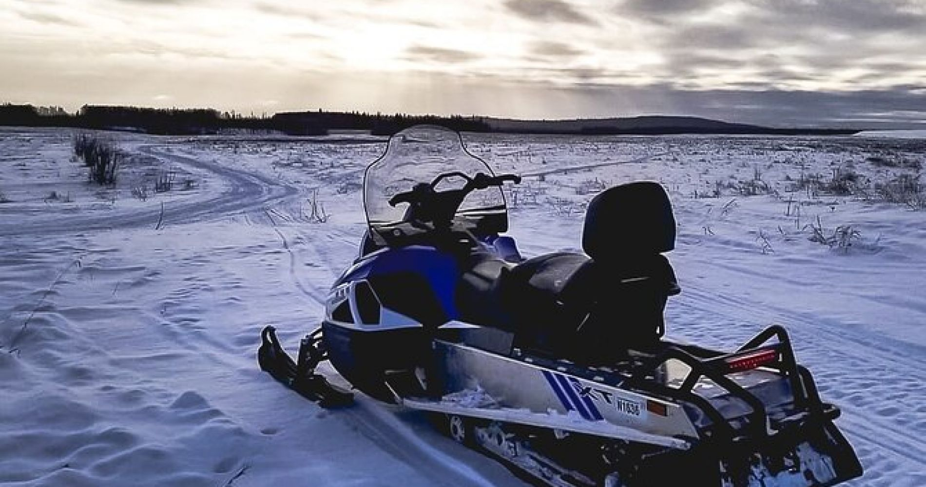 Fairbanks Snowmobile Adventure from North Pole