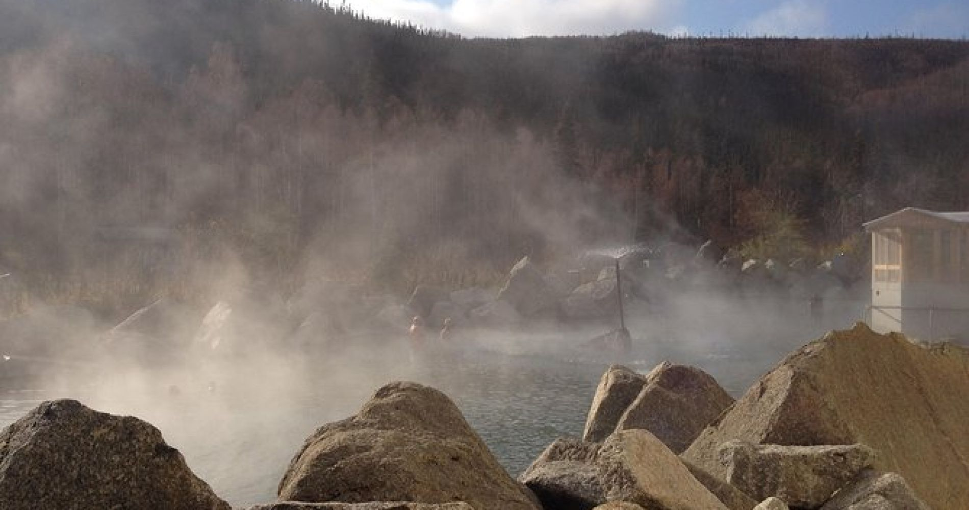 Chena Hot Springs Tour