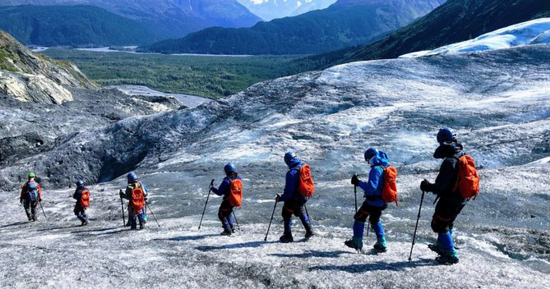 Exit Glacier Ice Hiking Adventure from Seward