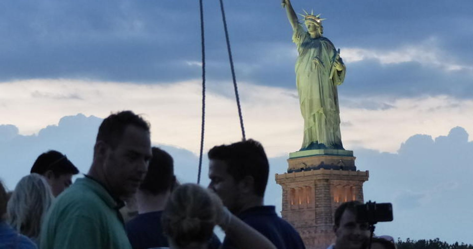 New York Harbor, Statue of Liberty Tall Ship Sailing Cruise