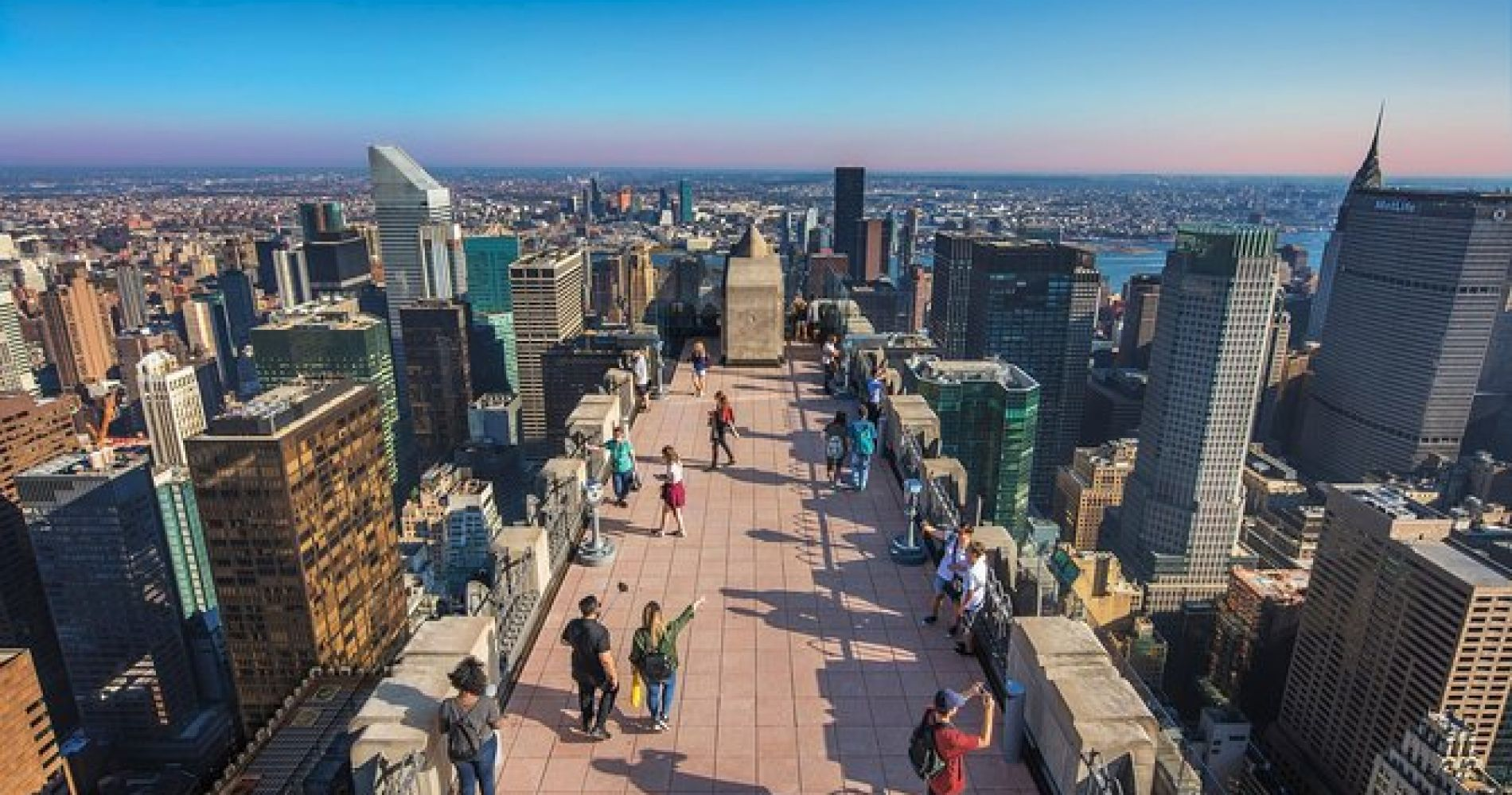 Top of the Rock Observation Deck, New York Ticket