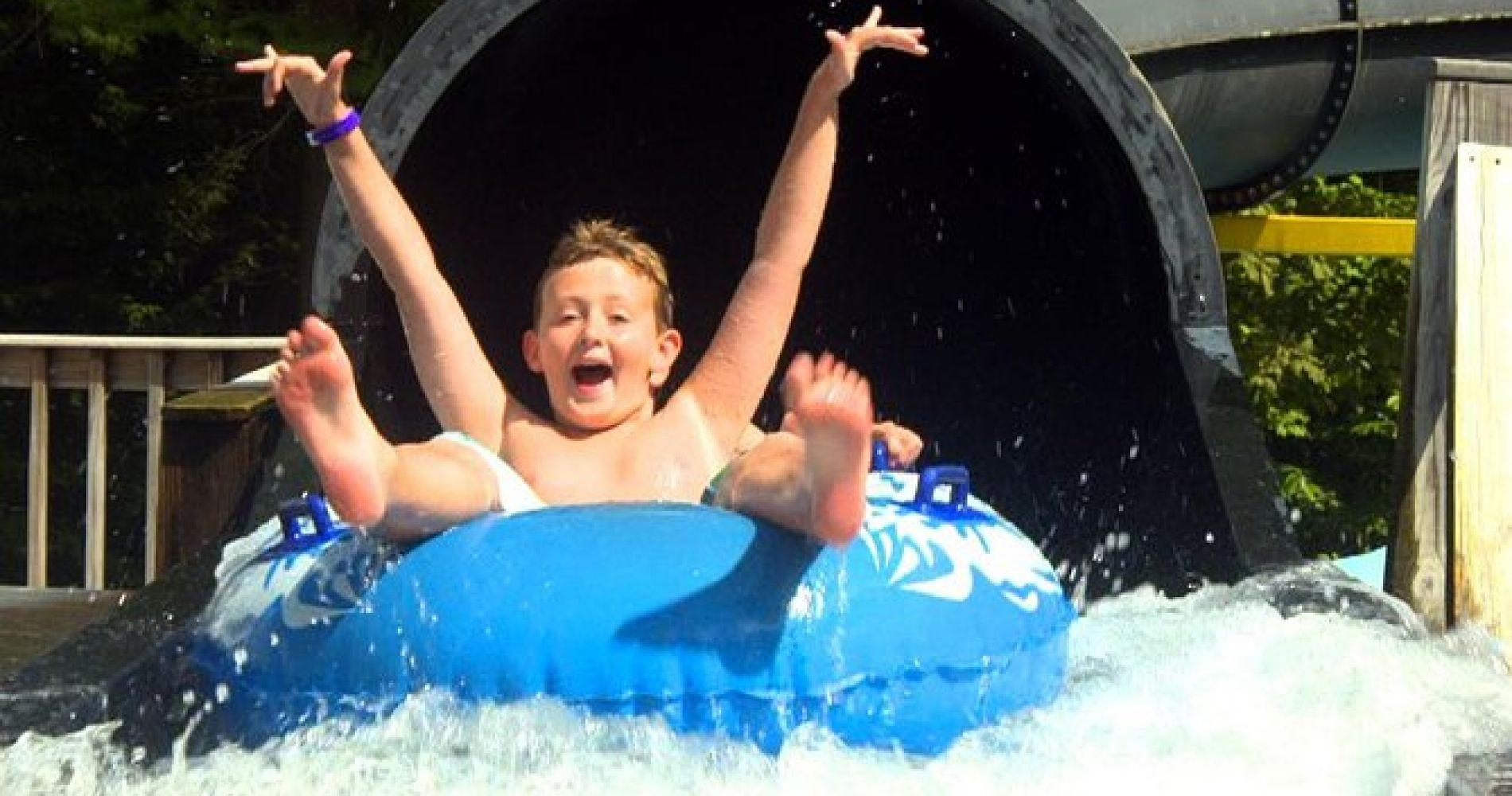 Zoom Flume Water Park Full Day Ticket