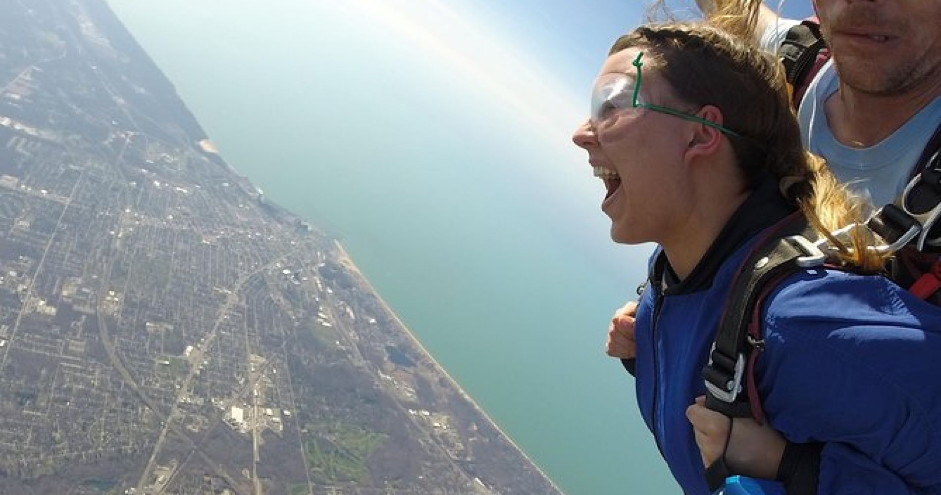 Tandem Skydiving Experience in Chicago