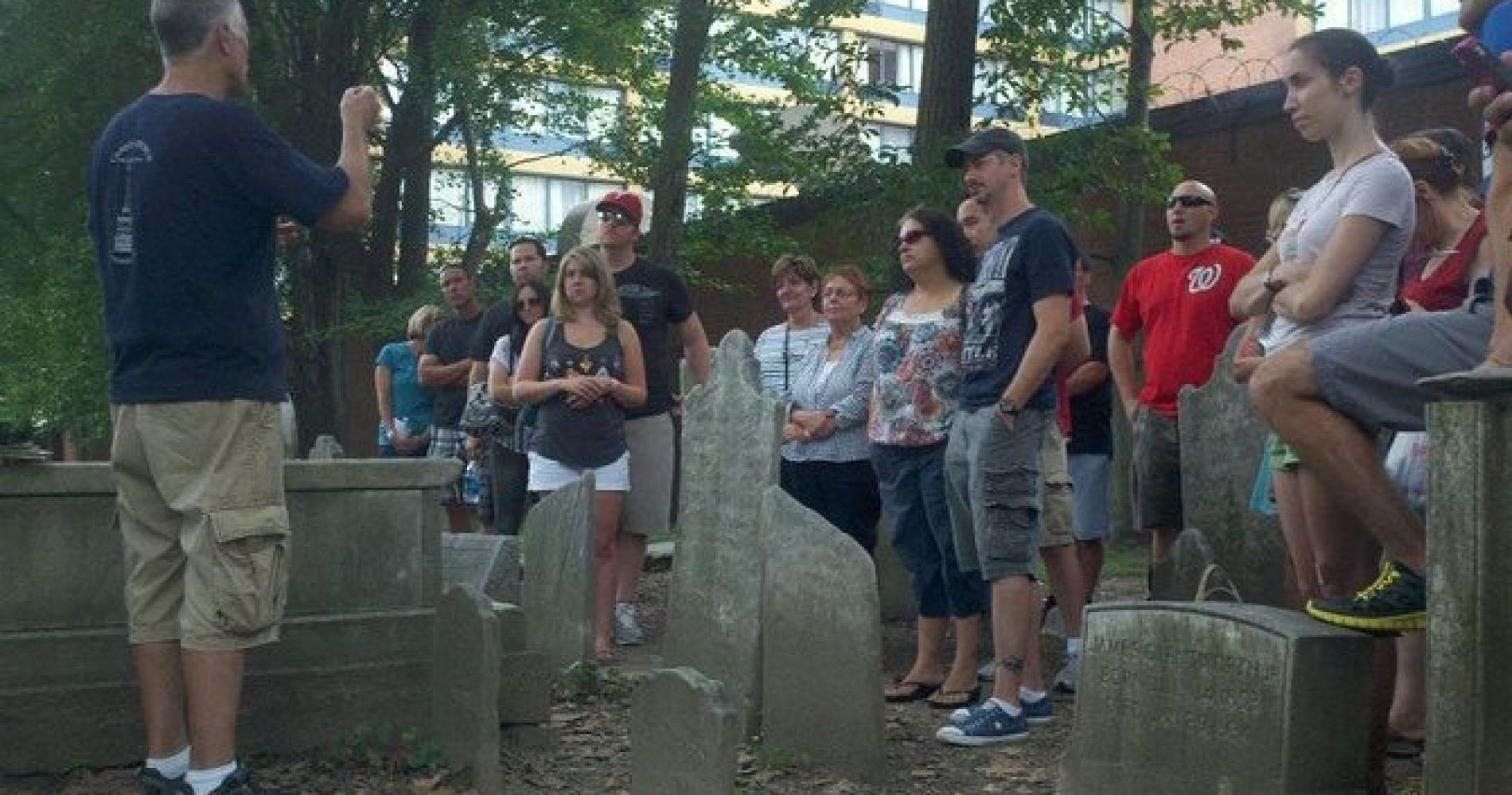 Cemetery and Serial Killers Walking Tour of Philadelphia