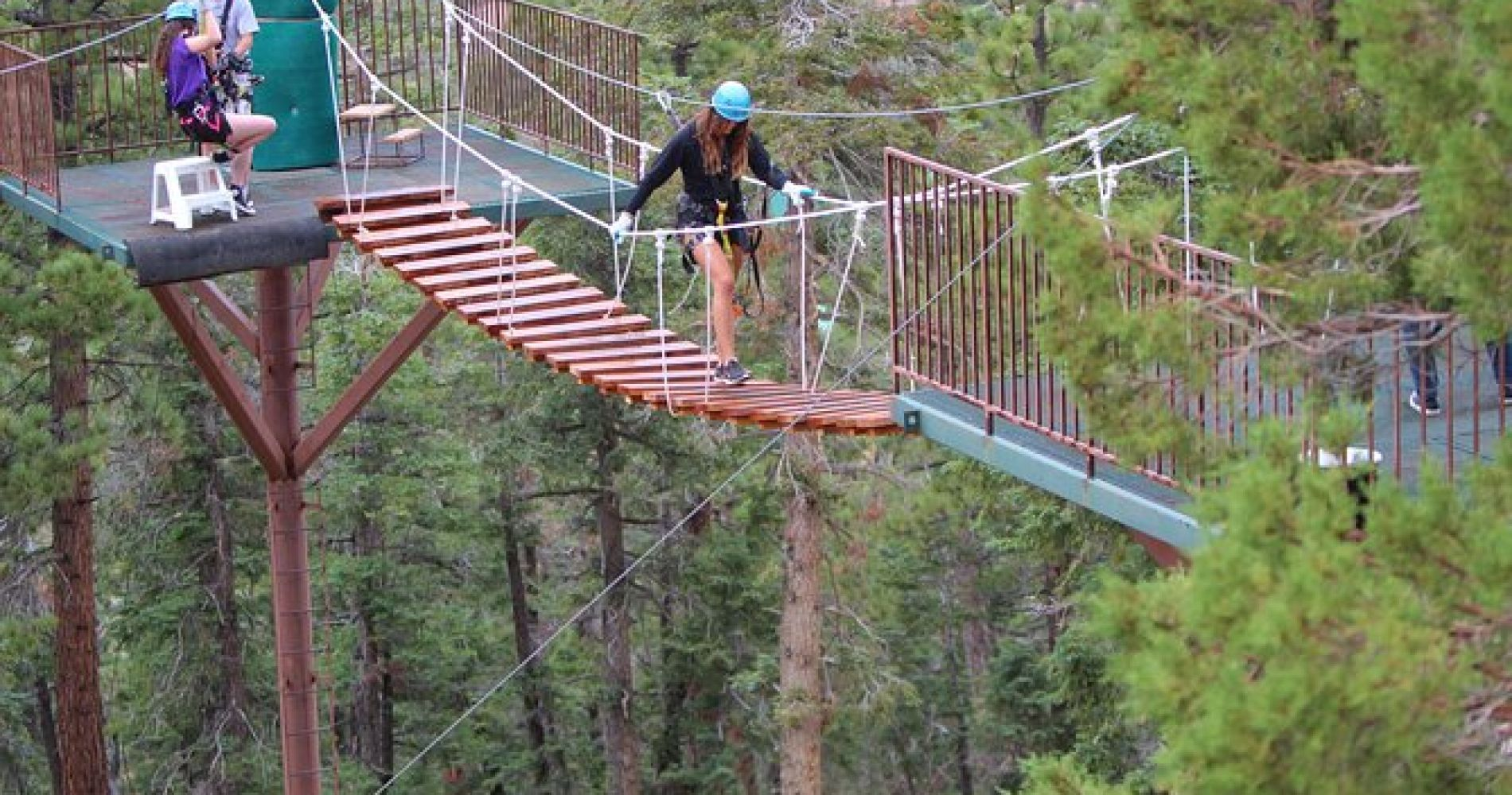 Zipline Tour - 9 high-speed ziplines & fun suspension bridge