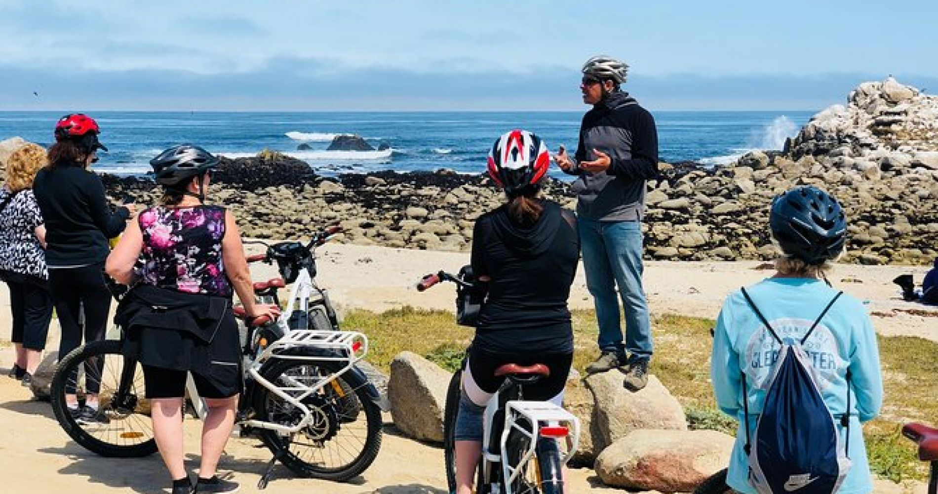 Monterey Bay and 17-Mile Drive Electric Bike Tour