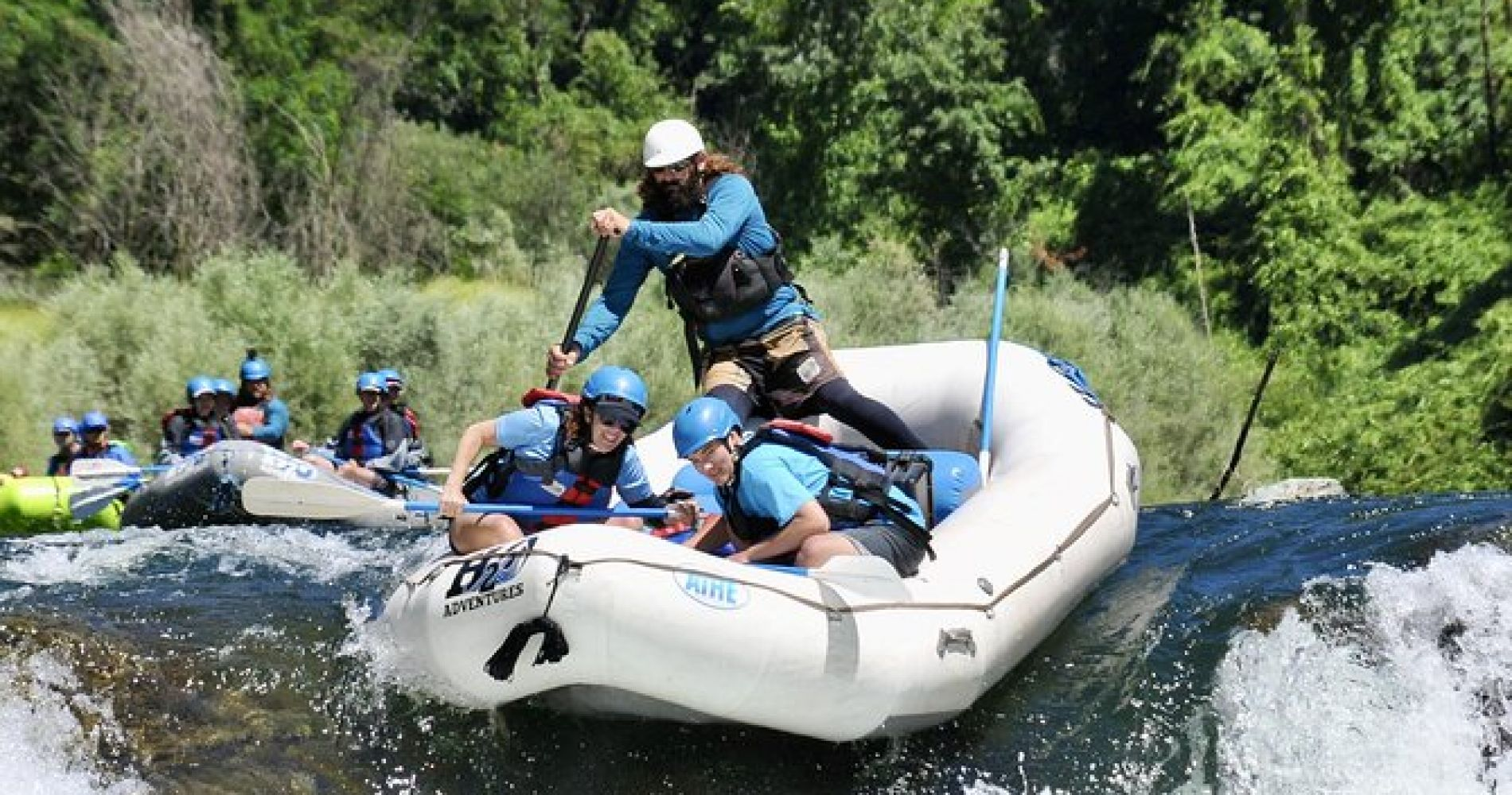 Full-Day Whitewater Rafting Trip on Middle Fork from Auburn (Class 3-4)