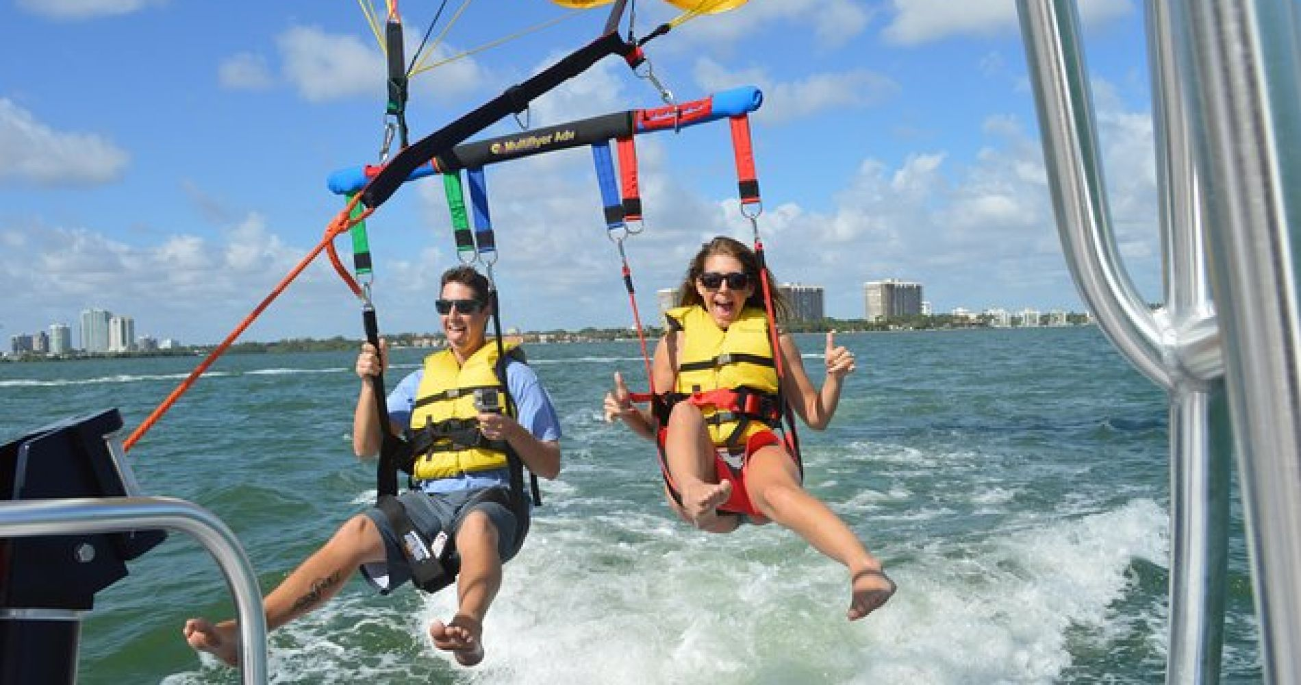 Parasailing with Miami Watersports