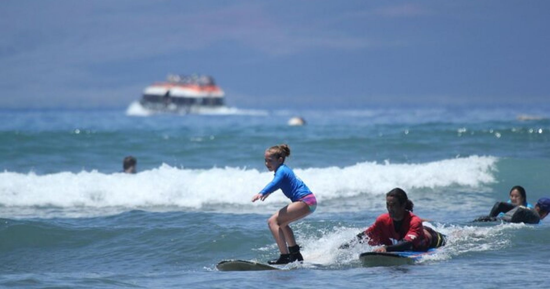 Maui Surf School Surfing Lesson in Lahaina